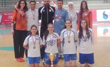 FutSal مبروك لثانوية الروضة بطولة لبنان في ال