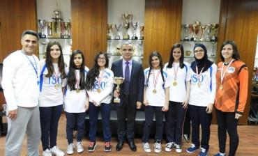 كأس المركز الاول لبطولة بيروت المدرسيّة – اناث – فئة 1999-2000